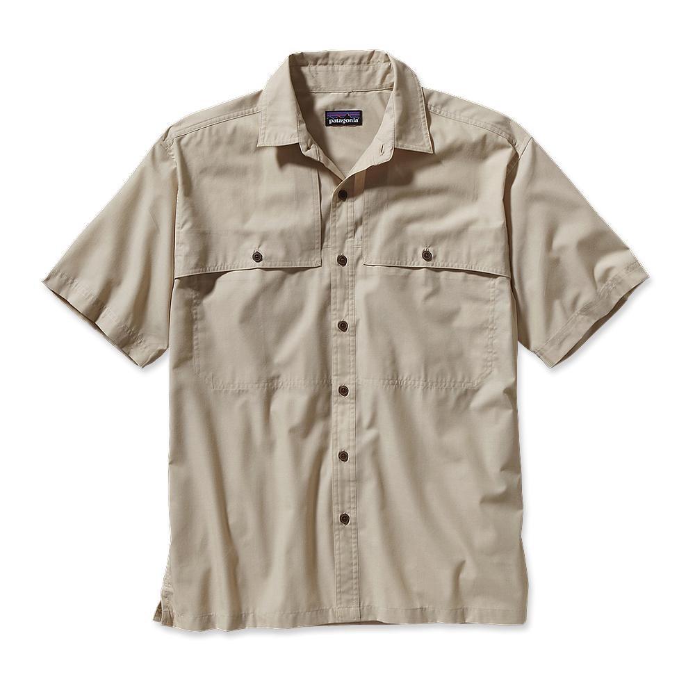 Patagonia Island Hopper Shirt Chambray: El Cap Khaki-30