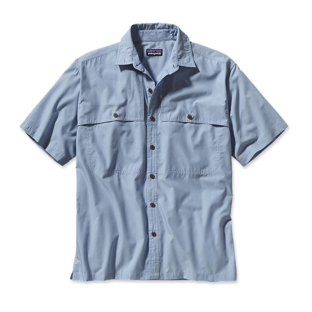 Patagonia Island Hopper Shirt Chambray: Leaden Blue-30