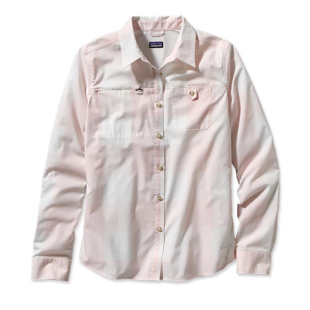 Patagonia - Long-Sleeved Island Hopper Shirt Largo: Coral - Shirts -
