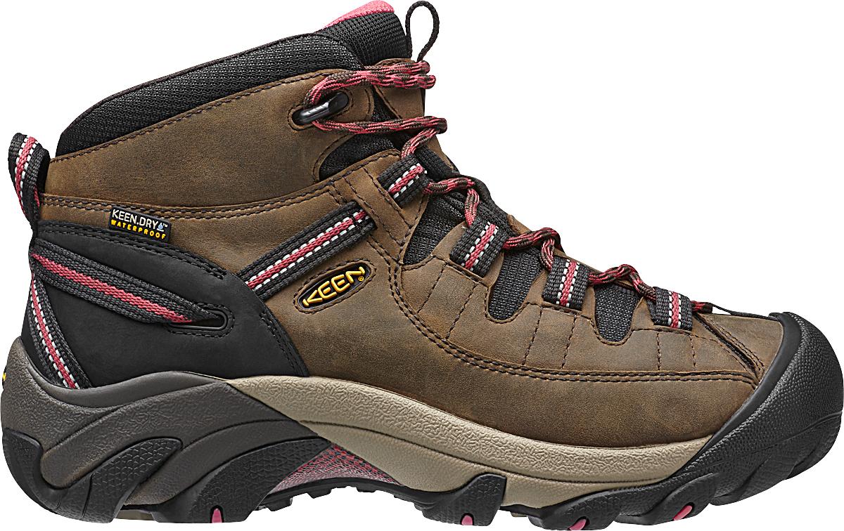 Keen - Targhee II Mid Black Olive/Slate Rose - Trekking Boots - US 11