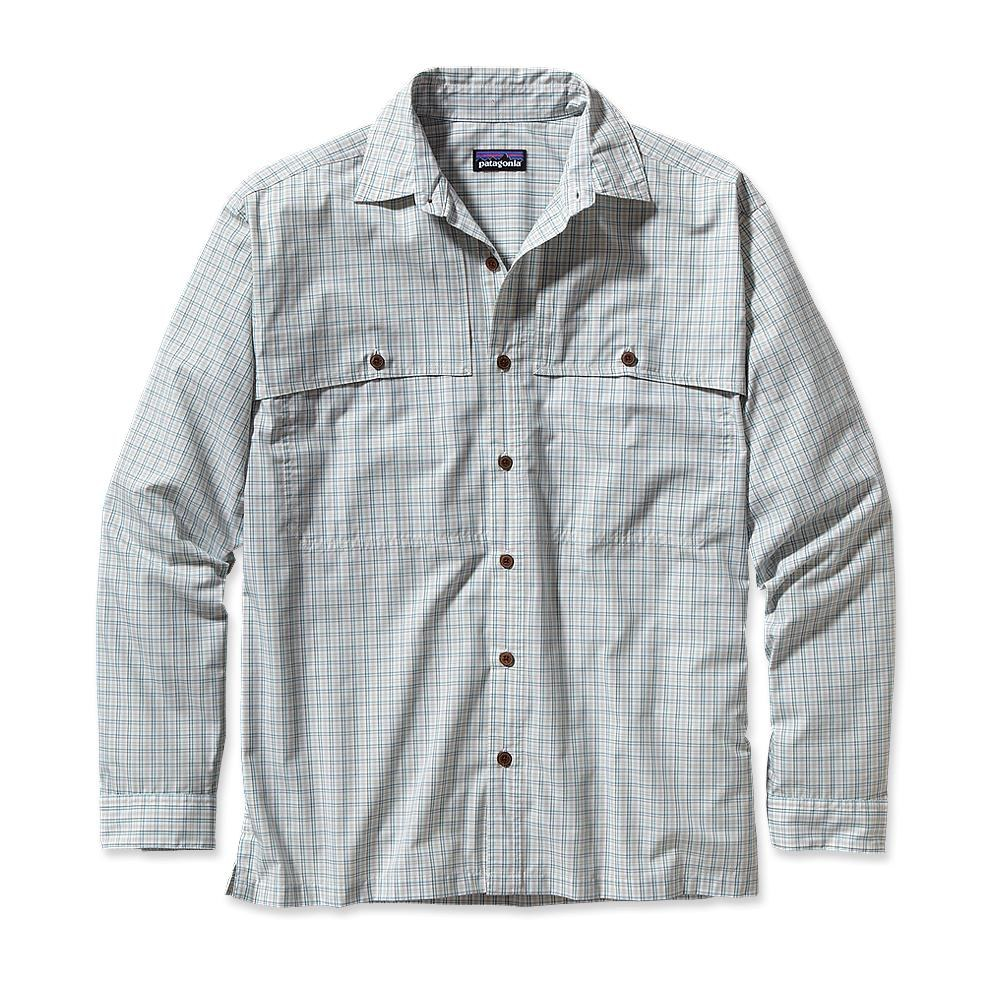 Patagonia Long-Sleeved Island Hopper Shirt Bahia: Polar Blue-30
