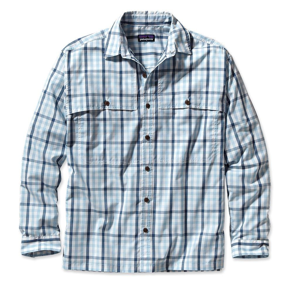 Patagonia Long-Sleeved Island Hopper Shirt Matacumbe: Clear Pool-30
