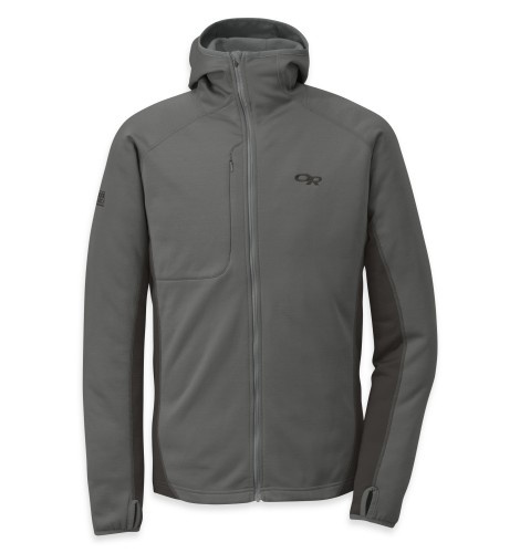 Outdoor Research Men´s Radiant Hybird Hoody Pewter/Charcoal-30