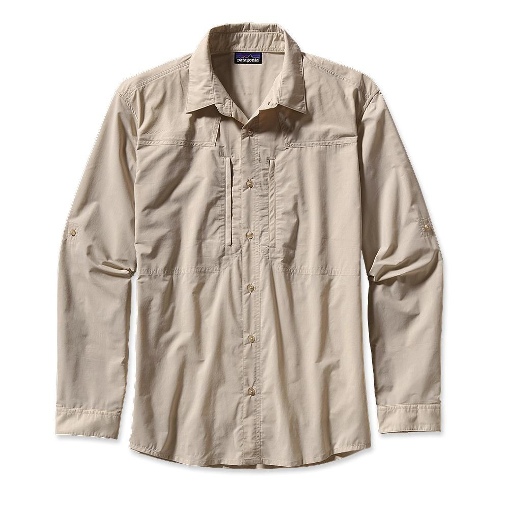 Patagonia Long-Sleeved Sun Stretch Shirt Casitas: El Cap Khaki-30