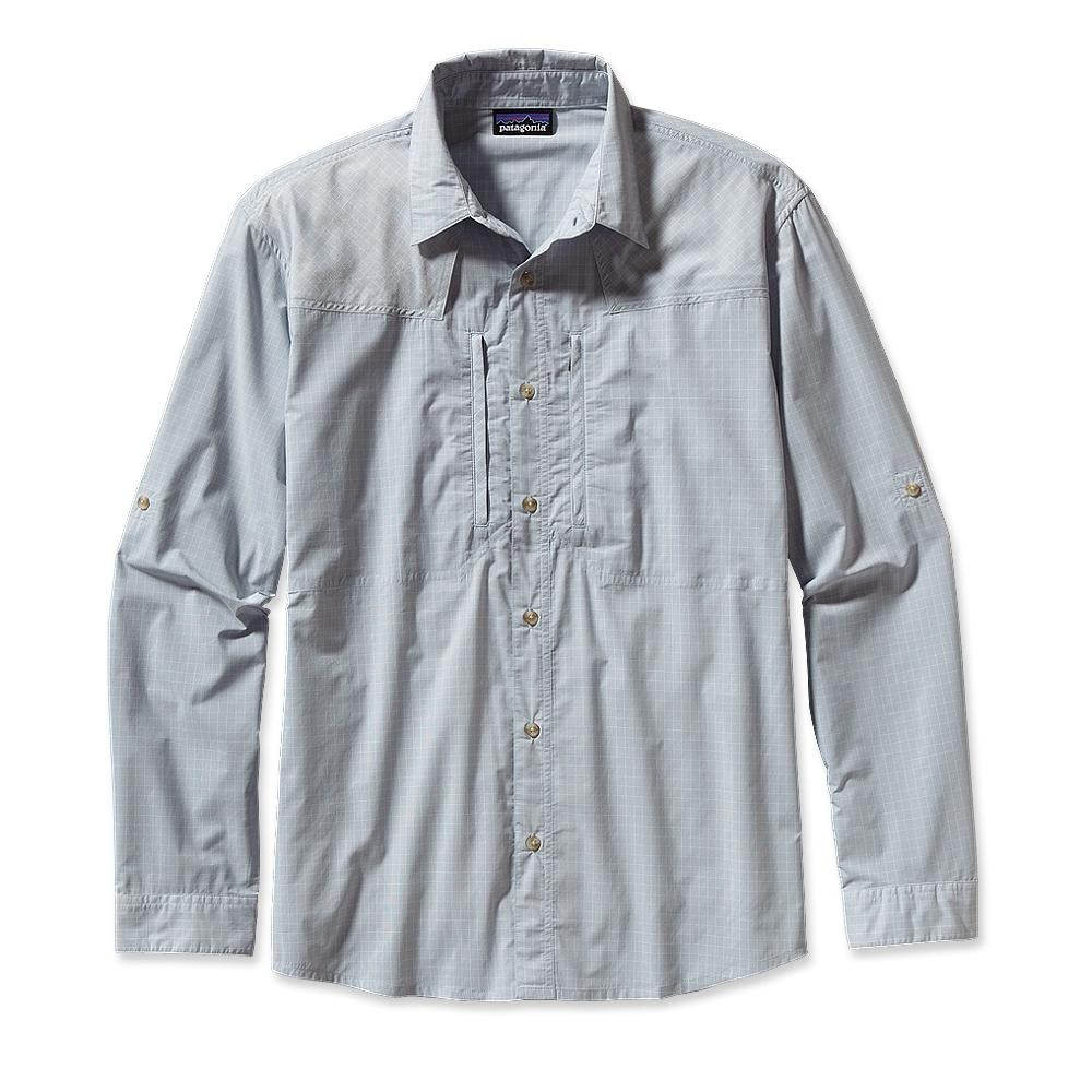 Patagonia Long-Sleeved Sun Stretch Shirt Casitas: Leaden Blue-30