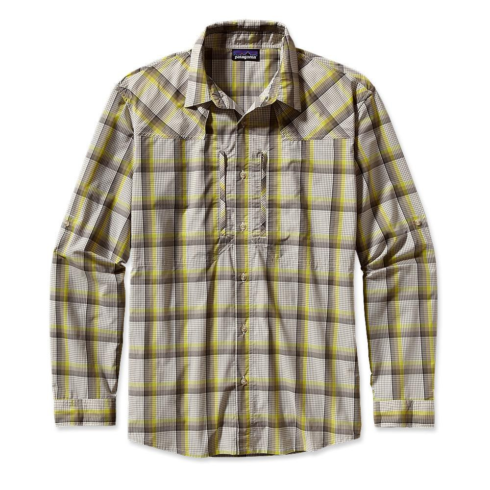 Patagonia Long-Sleeved Sun Stretch Shirt Sespe: Ash Tan-30