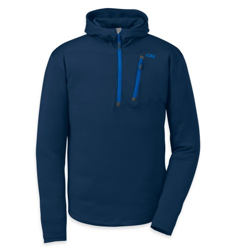 Outdoor Research Men´s Radiant HD Half-Zip 285-ABYSS-30