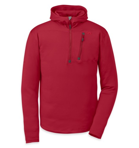 Outdoor Research Men´s Radiant HD Half-Zip 462-REDWOOD-30