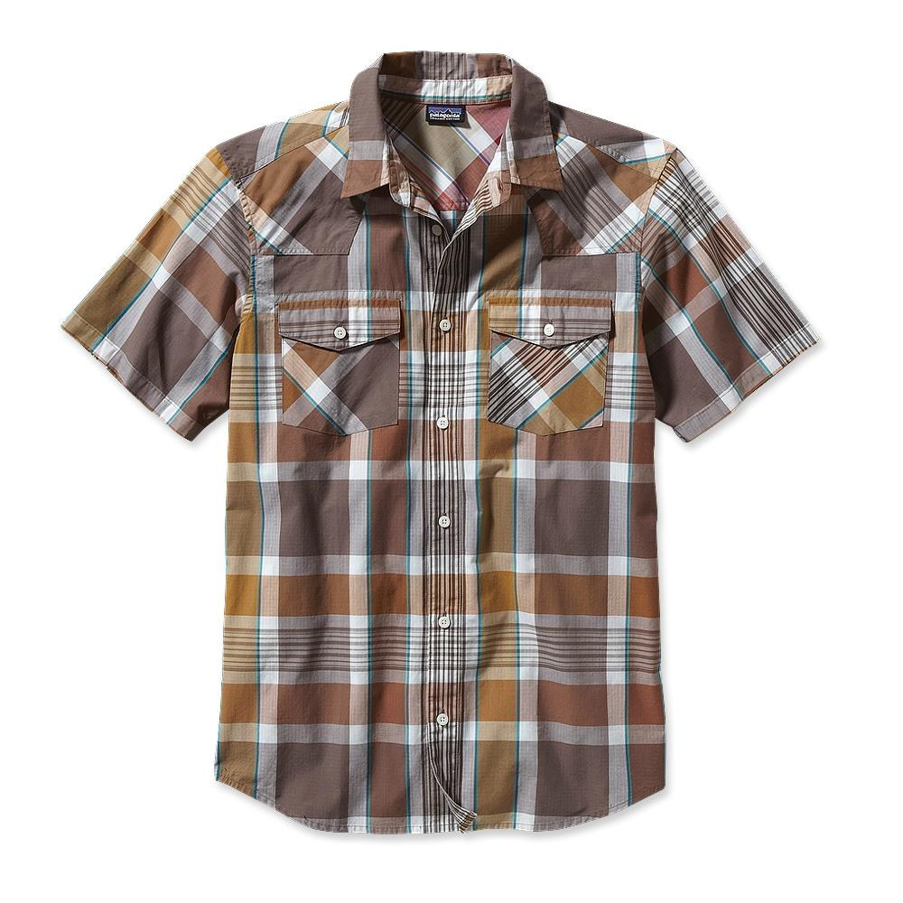 Patagonia Three Trees Shirt Vintage Dragon: Sepia Brown-30