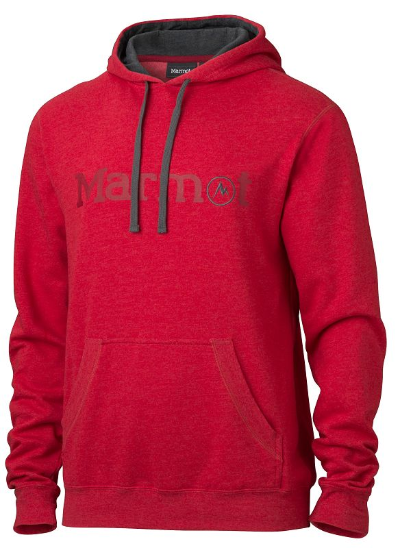 Marmot Marmot Hoody Team Red-30
