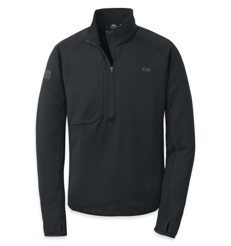 Outdoor Research Men´s Radiant Hybird Pullover 001-BLACK-30