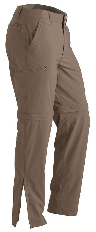 Marmot Transcend Convertible Pant Desert Khaki-30