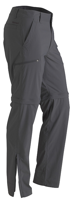 Marmot Transcend Convertible Pant Long Slate Grey-30