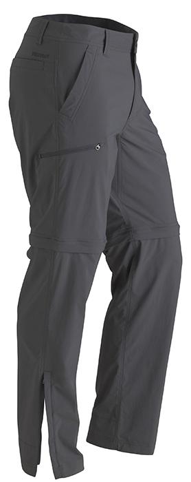 Marmot Transcend Convertible Pant Short Slate Grey-30