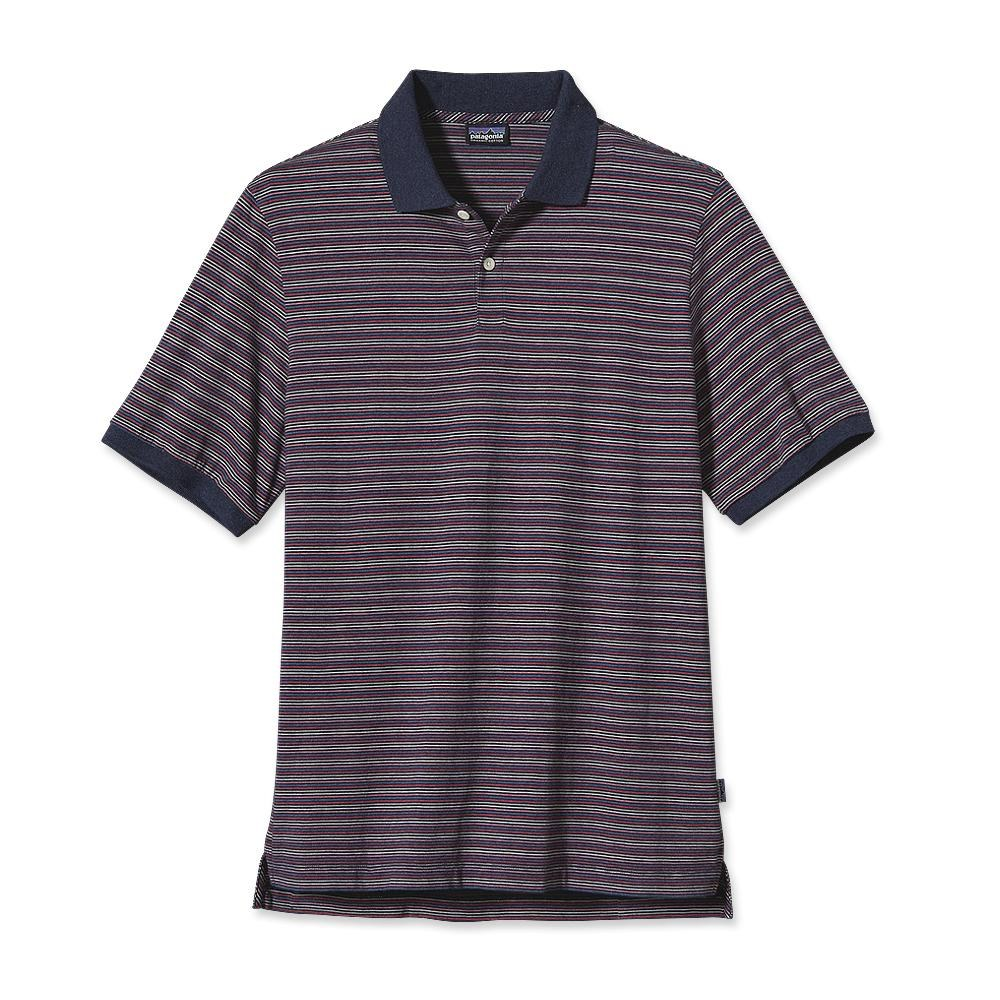 Patagonia - Daily Polo Hildreth: Classic Navy Heather - Polo Shirts - XL