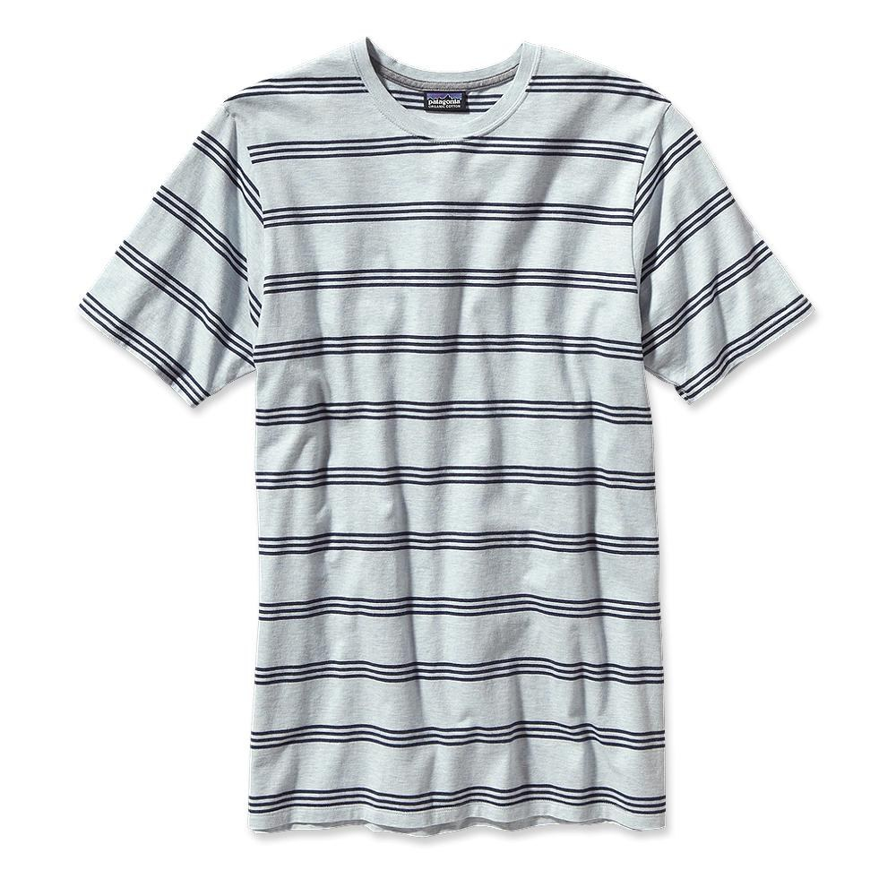 Patagonia Daily Tee Branch Creek: Ion Blue-30