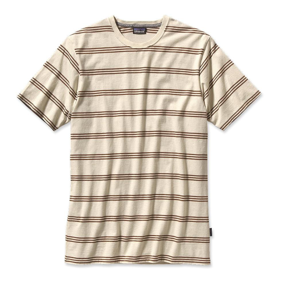 Patagonia Daily Tee Branch Creek: Raw Linen-30