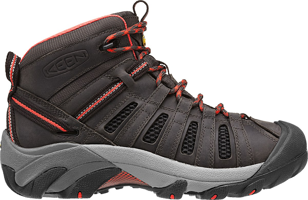 Keen Yoyageur MID Raven/Hot Coral-30
