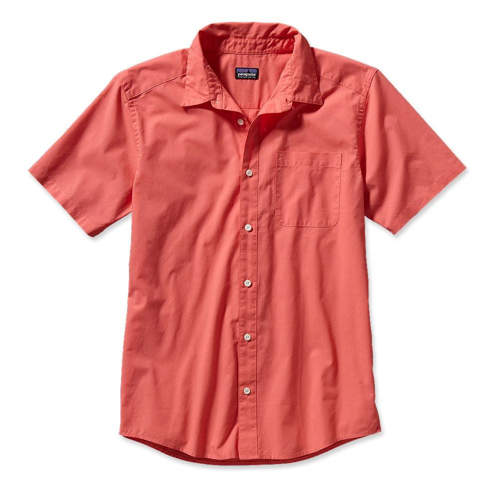 Patagonia S/S Go To Shirt Coral-30