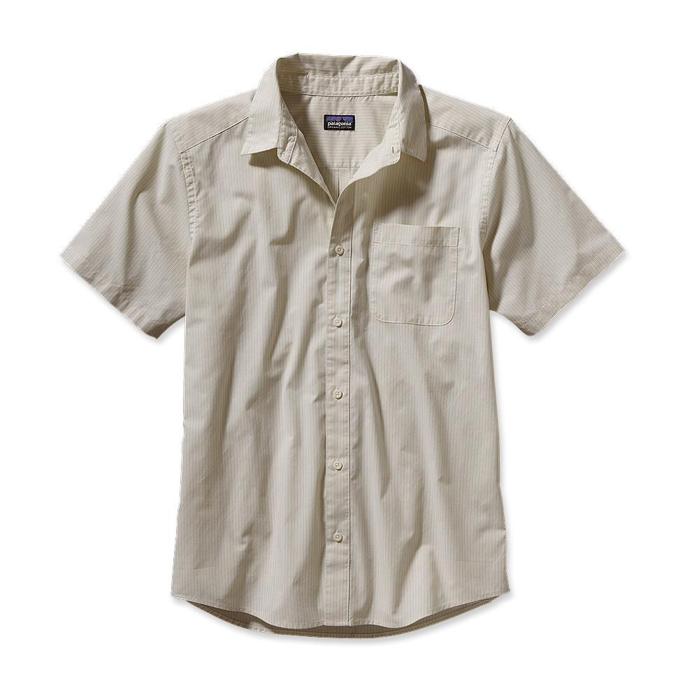 Patagonia S/S Go To Shirt Pismo Stripe: Raw Linen-30