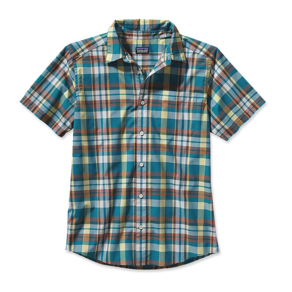 Patagonia S/S Go To Shirt Sisquoc: Tobago Blue-30