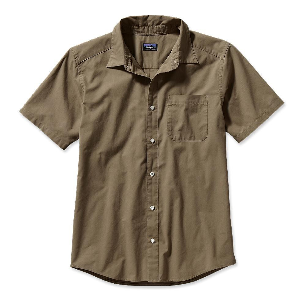 Patagonia S/S Go To Shirt Ash Tan-30