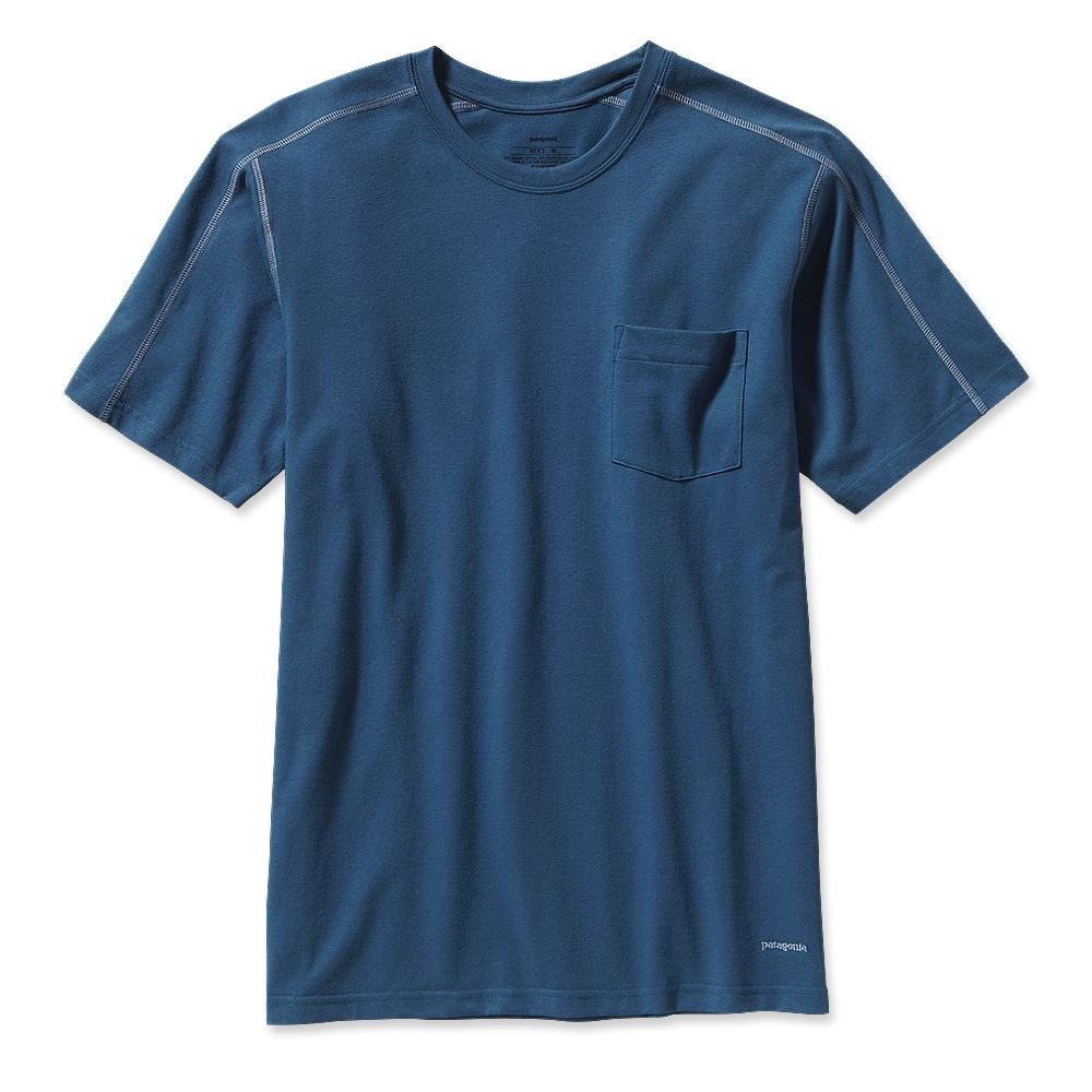 Patagonia Stretch Tee Glass Blue-30