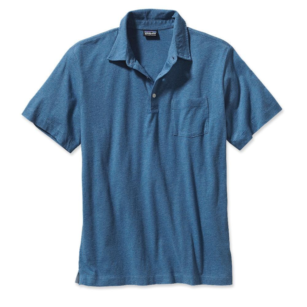 Patagonia Squeaky Clean Polo Glass Blue-30