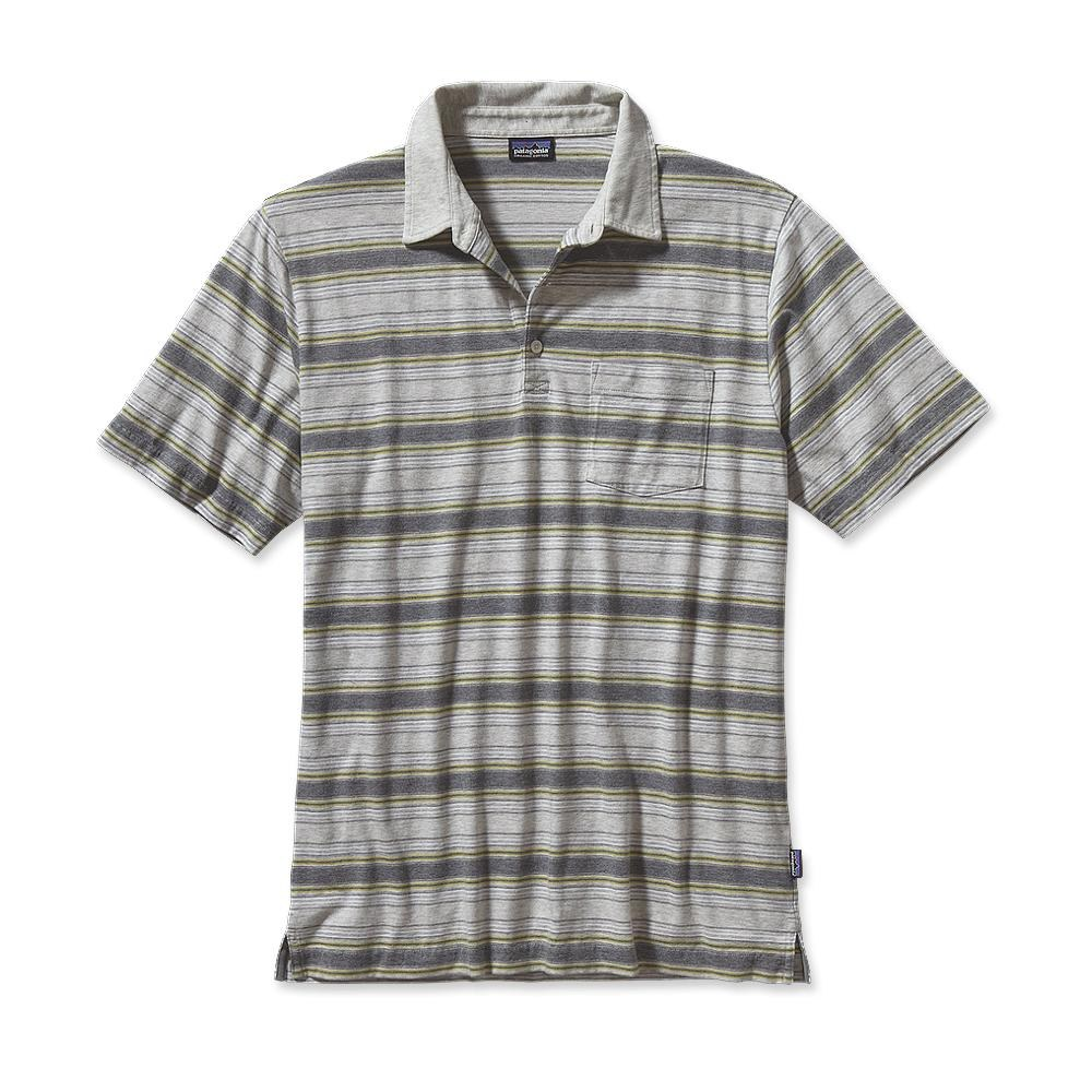 Patagonia Squeaky Clean Polo Rancho Real: Feather Grey-30