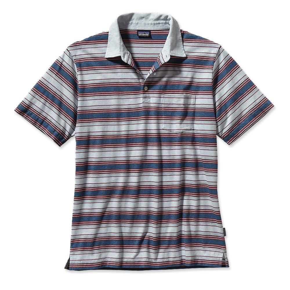 Patagonia Squeaky Clean Polo Rancho Real: Glass Blue-30