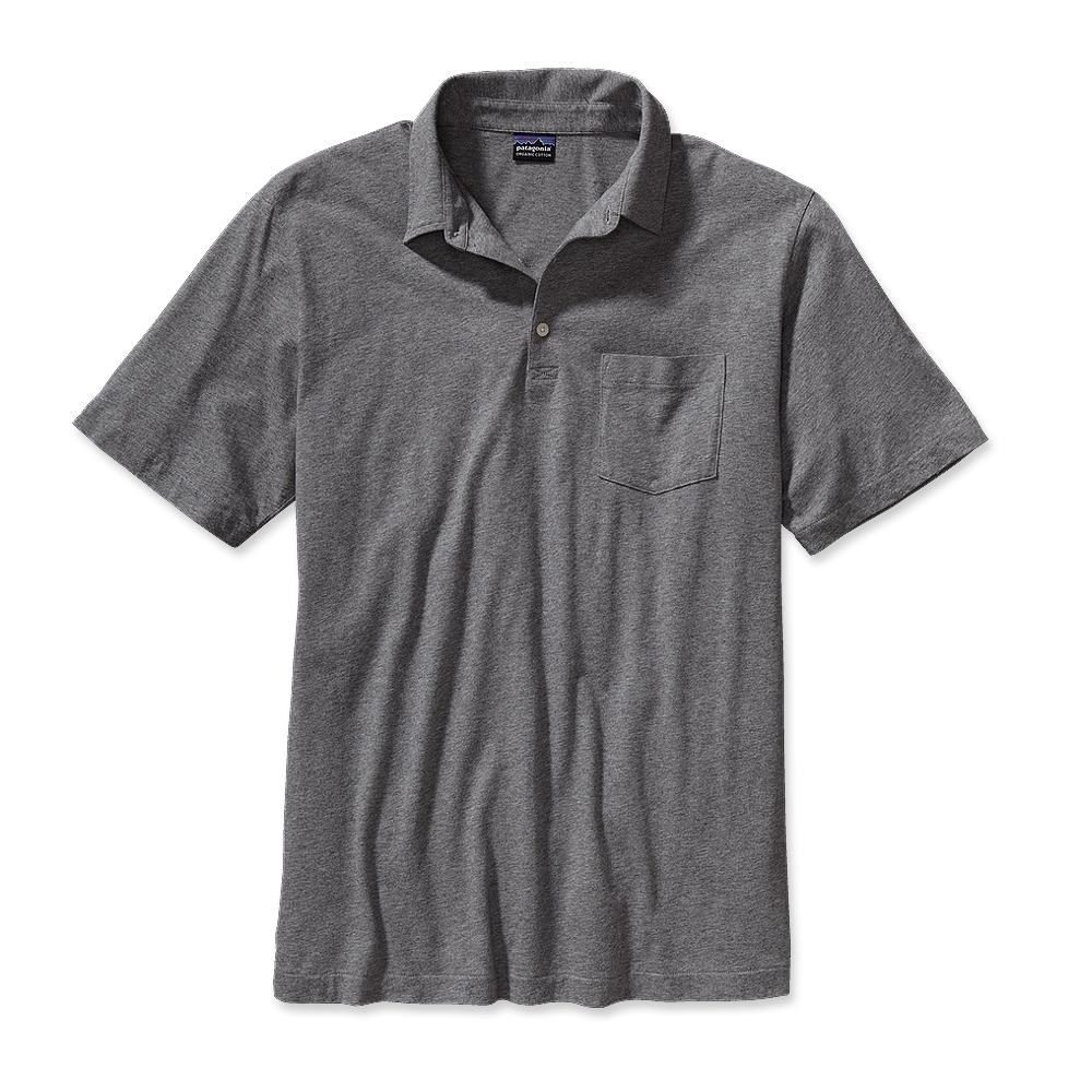 Patagonia Squeaky Clean Polo Feather Grey-30