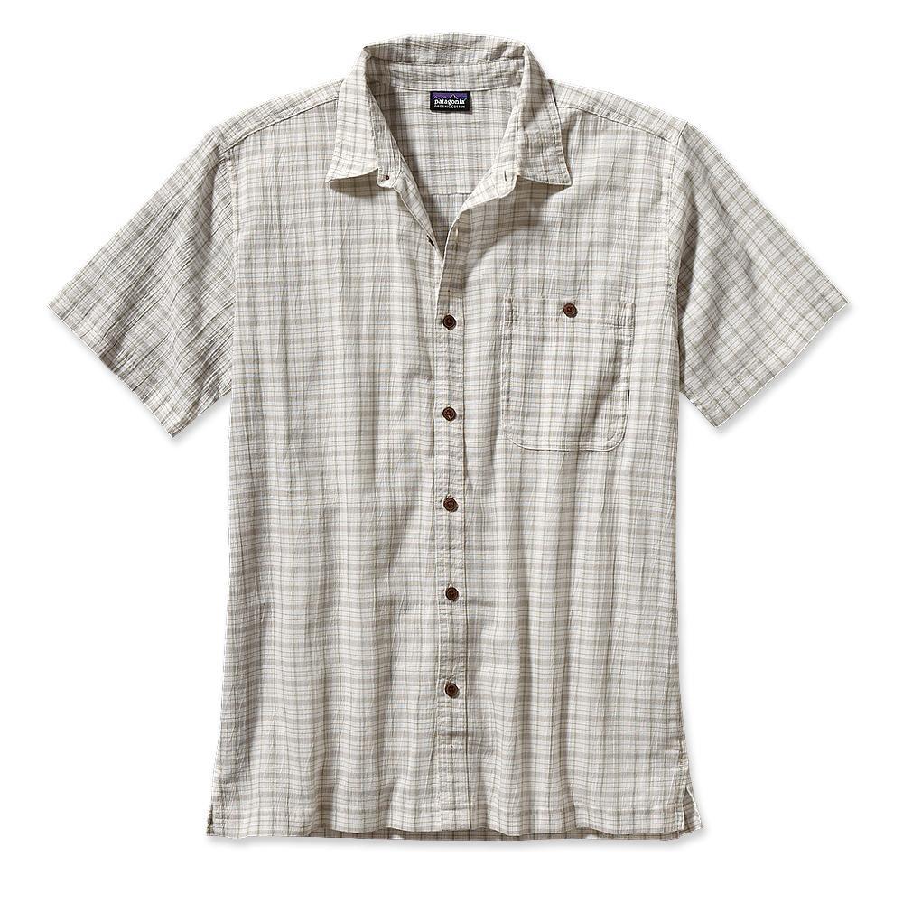 Patagonia S/S A/C Shirt Bulito: White-30
