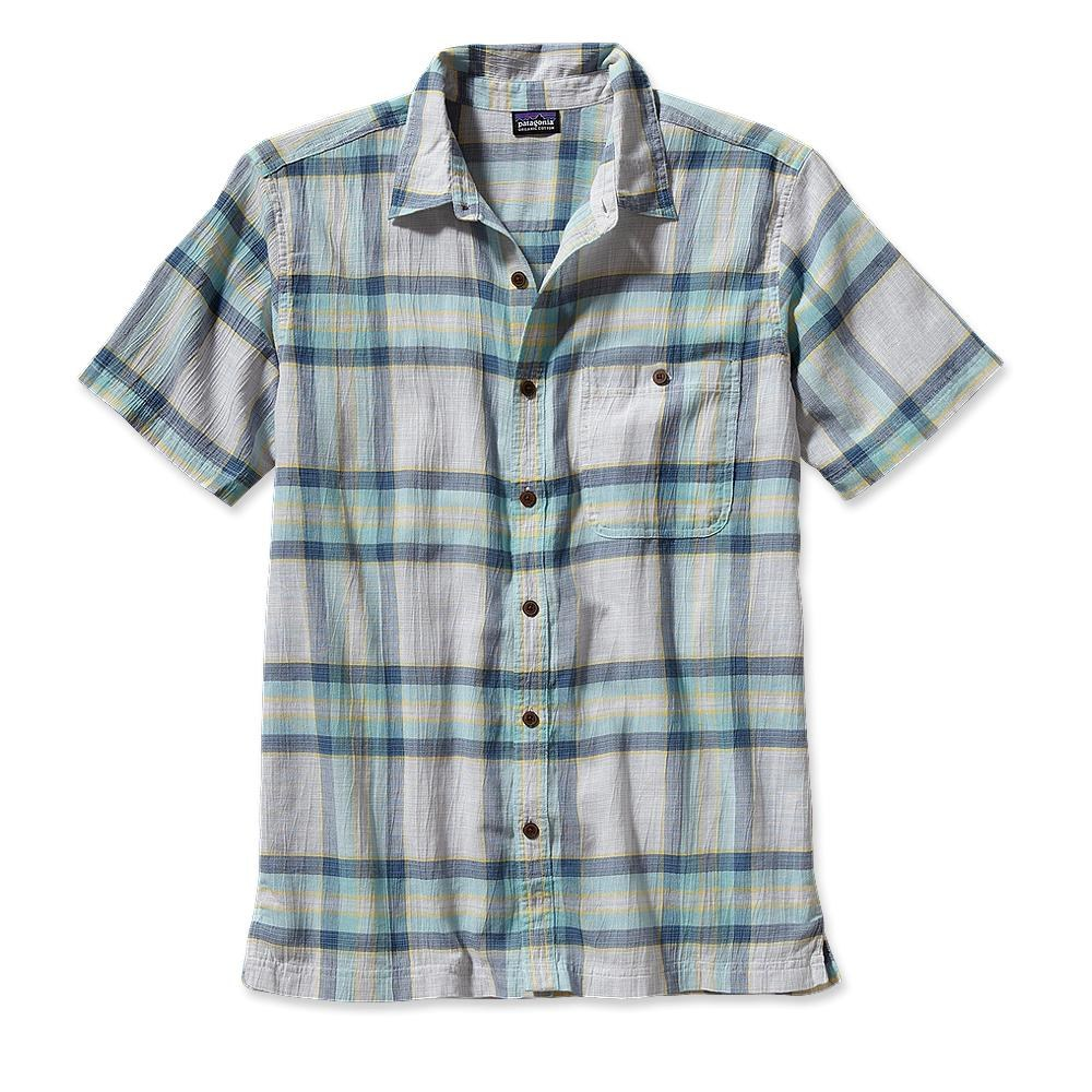 Patagonia S/S A/C Shirt Del Norte: Tailored Grey-30