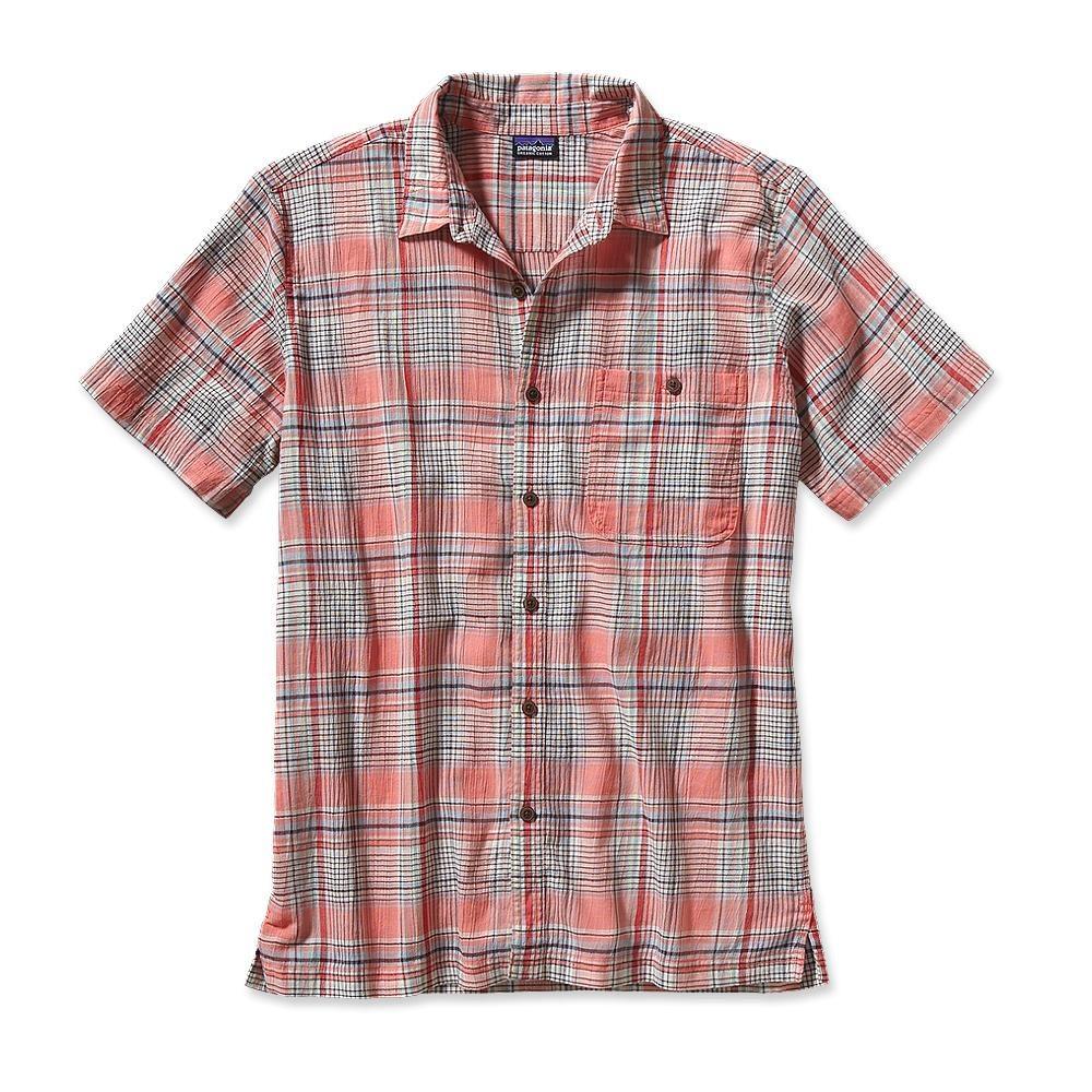 Patagonia S/S A/C Shirt Santa Ana: Coral-30