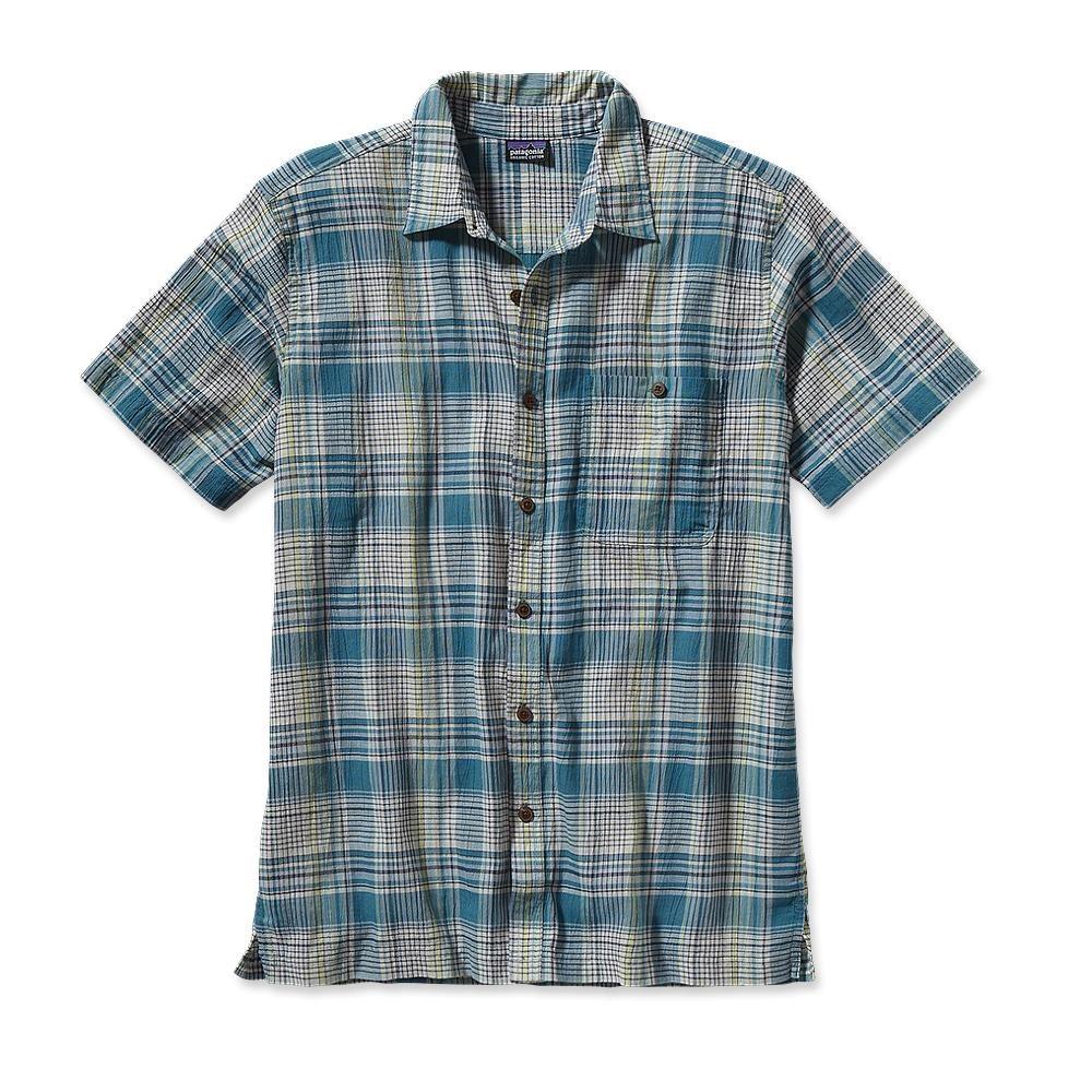Patagonia S/S A/C Shirt Santa Ana: Tobago Blue-30