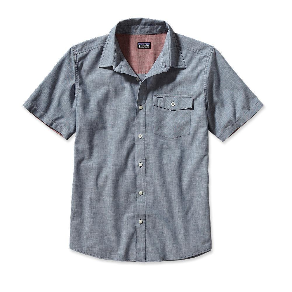 Patagonia Lightweight Chambray Shirt Estero Chambray: Leaden Blue-30