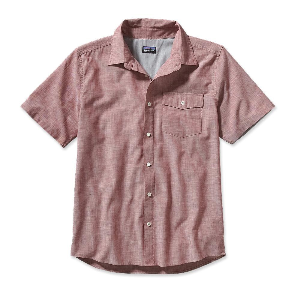 Patagonia Lightweight Chambray Shirt Estero Chambray: Wax Red-30