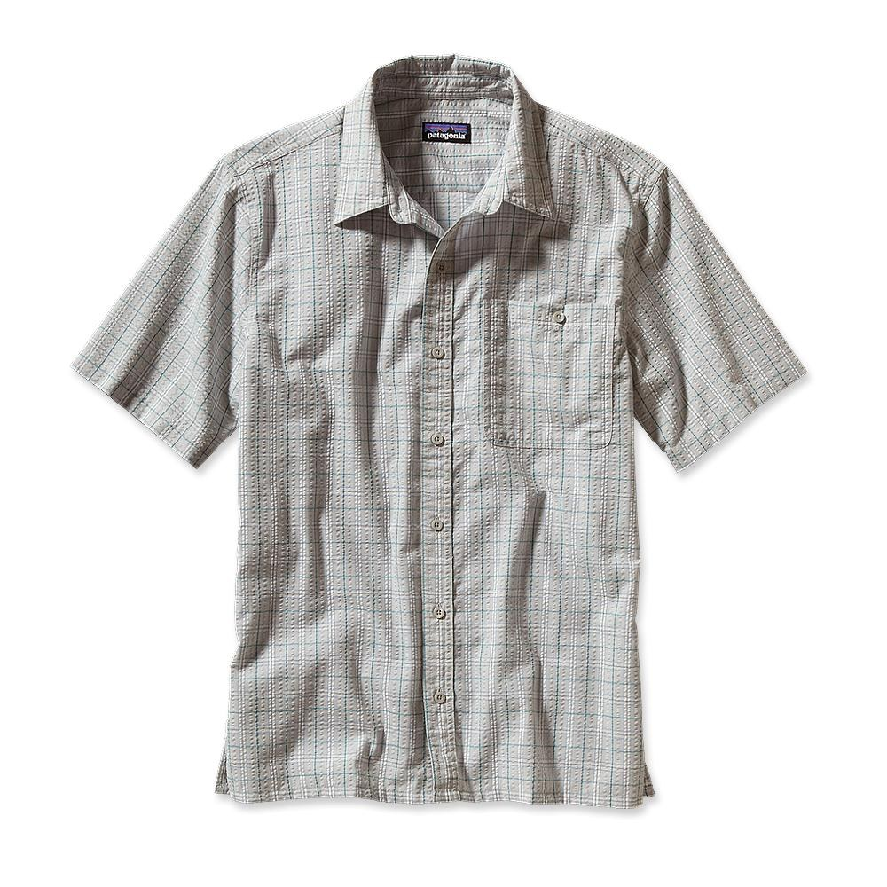 Patagonia Puckerware Shirt Camuesa: Tailored Grey-30