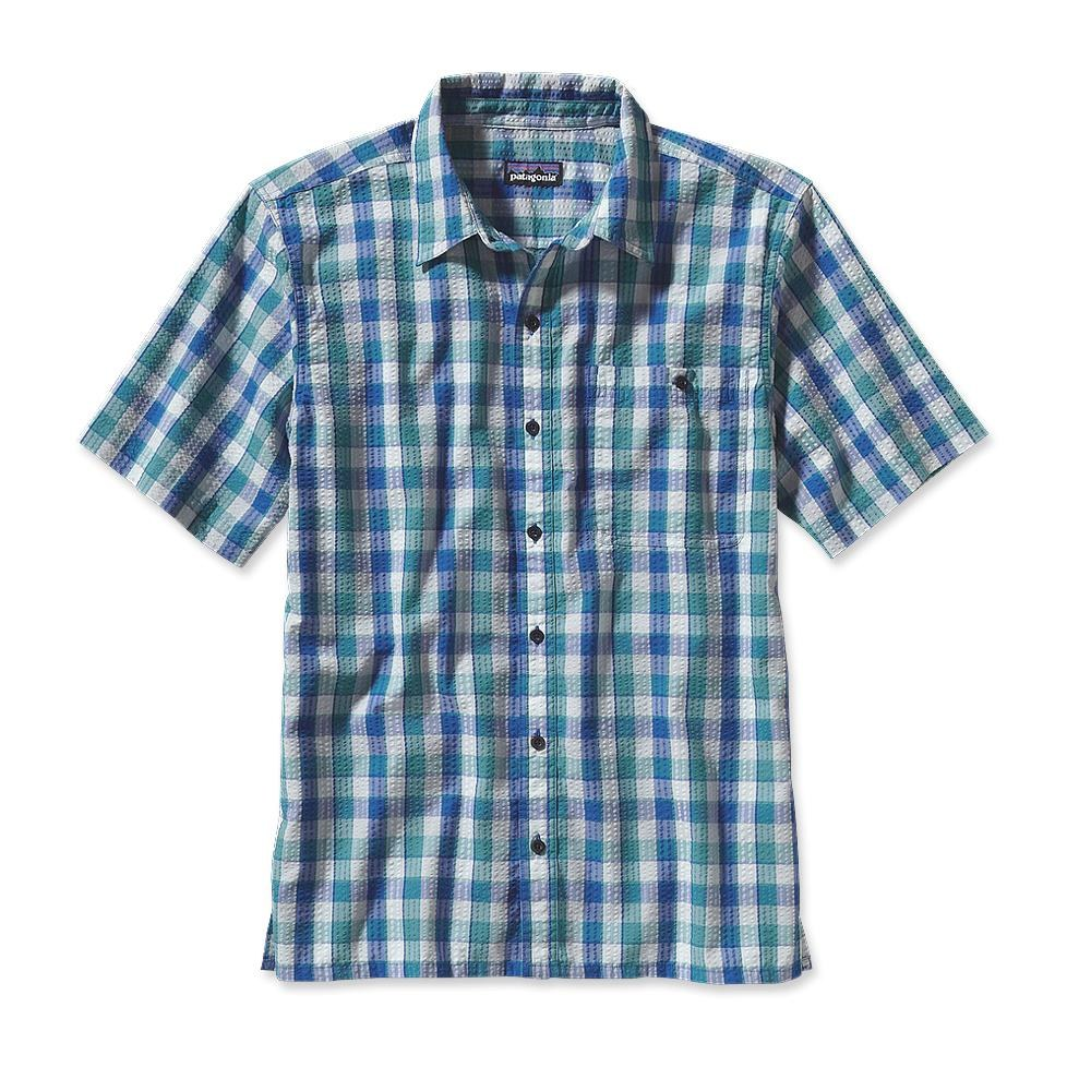 Patagonia Puckerware Shirt Padre Juan: Tobago Blue-30