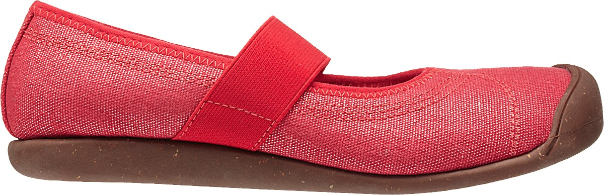 Keen Sienna MJ Canvas Mars Red-30