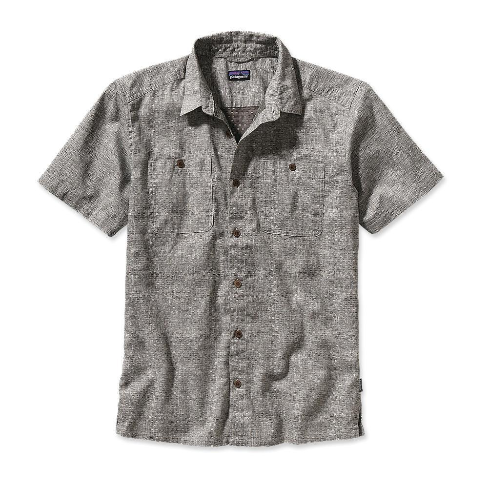 Patagonia Migration Hemp Shirt Rabbit's Foot: Alpha Green-30