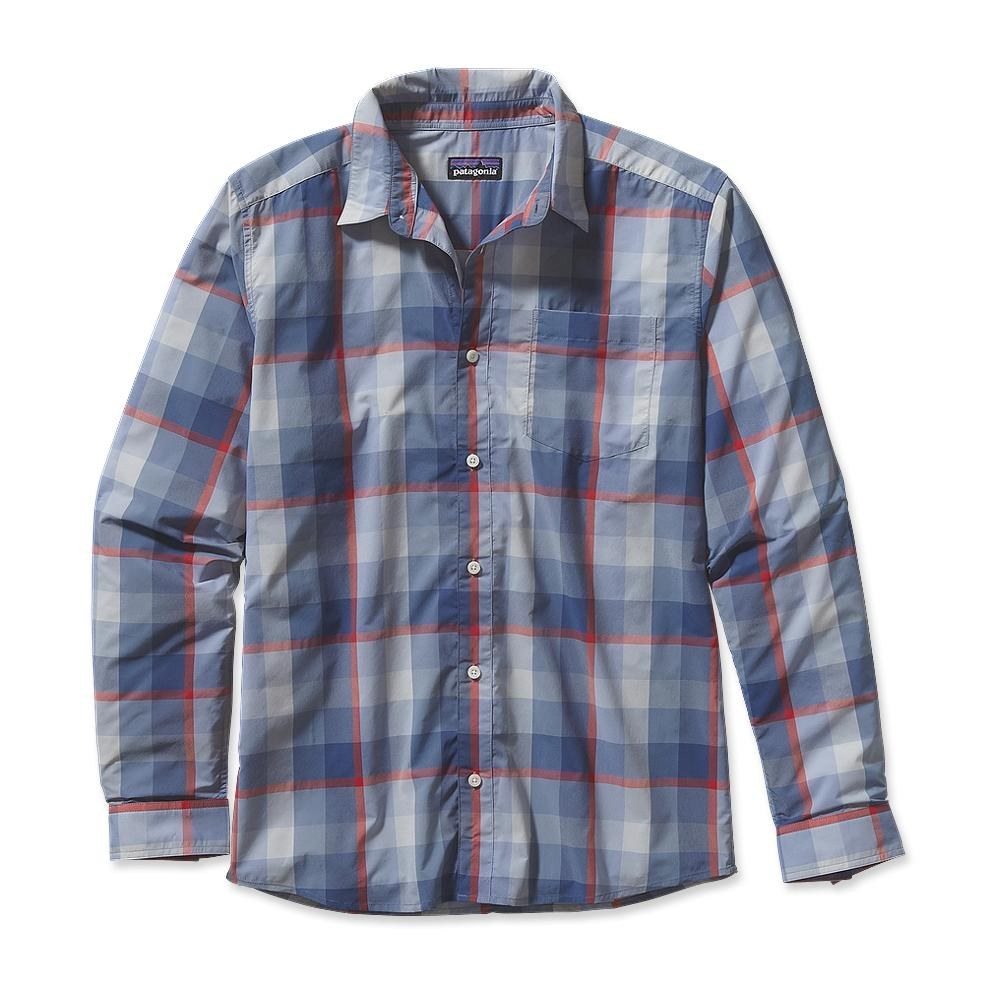 Patagonia Long-Sleeved Gone Again Shirt Mutau: Leaden Blue-30