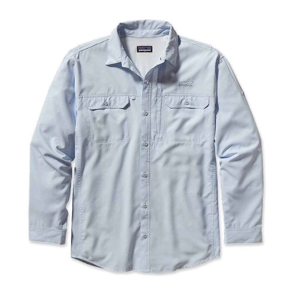 Patagonia Long-Sleeved Sol Patrol Shirt Ion Blue-30