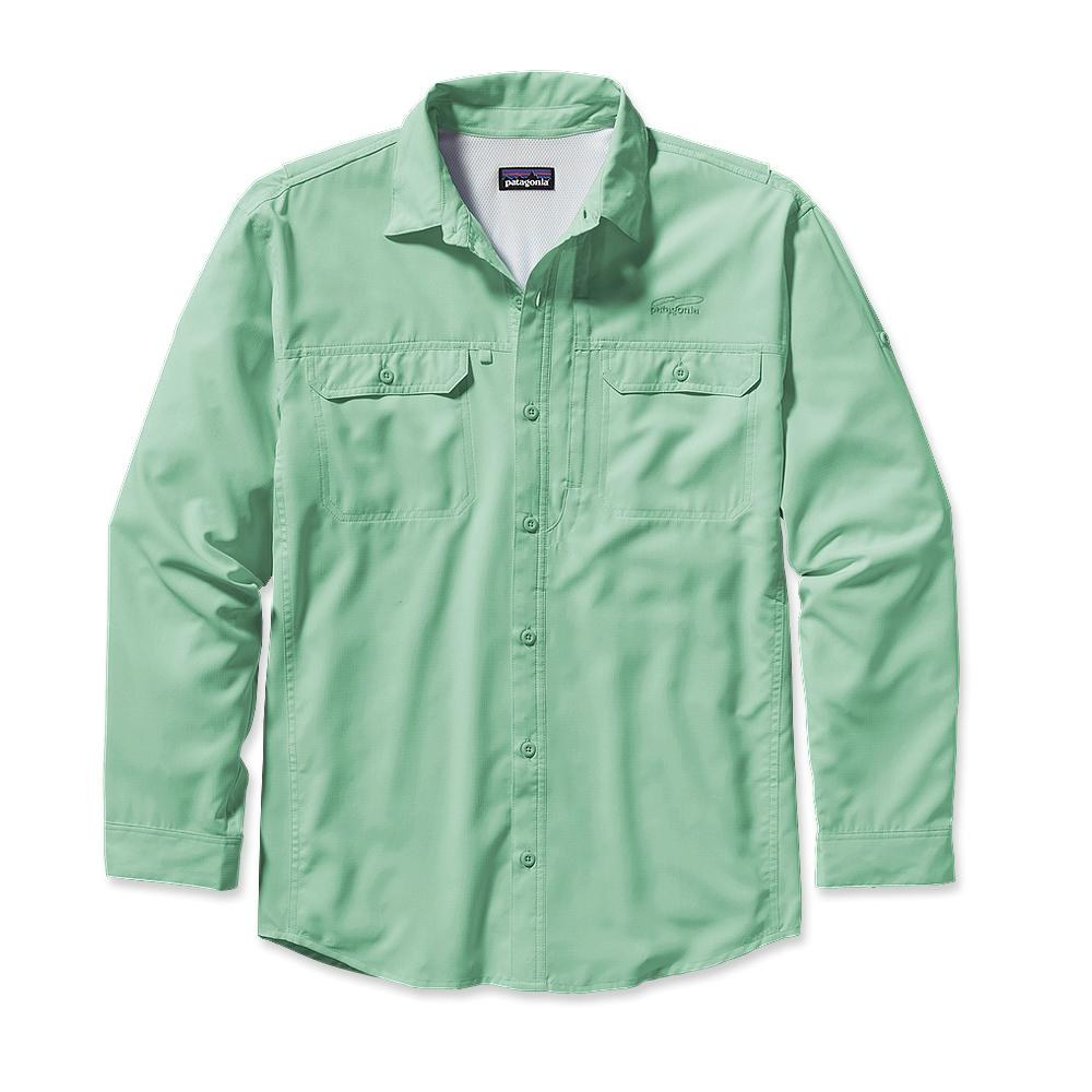 Patagonia Long-Sleeved Sol Patrol Shirt Atoll Aqua-30
