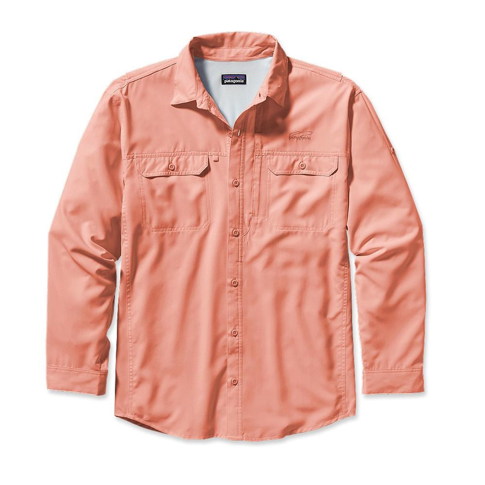 Patagonia Long-Sleeved Sol Patrol Shirt Paisley Peach-30