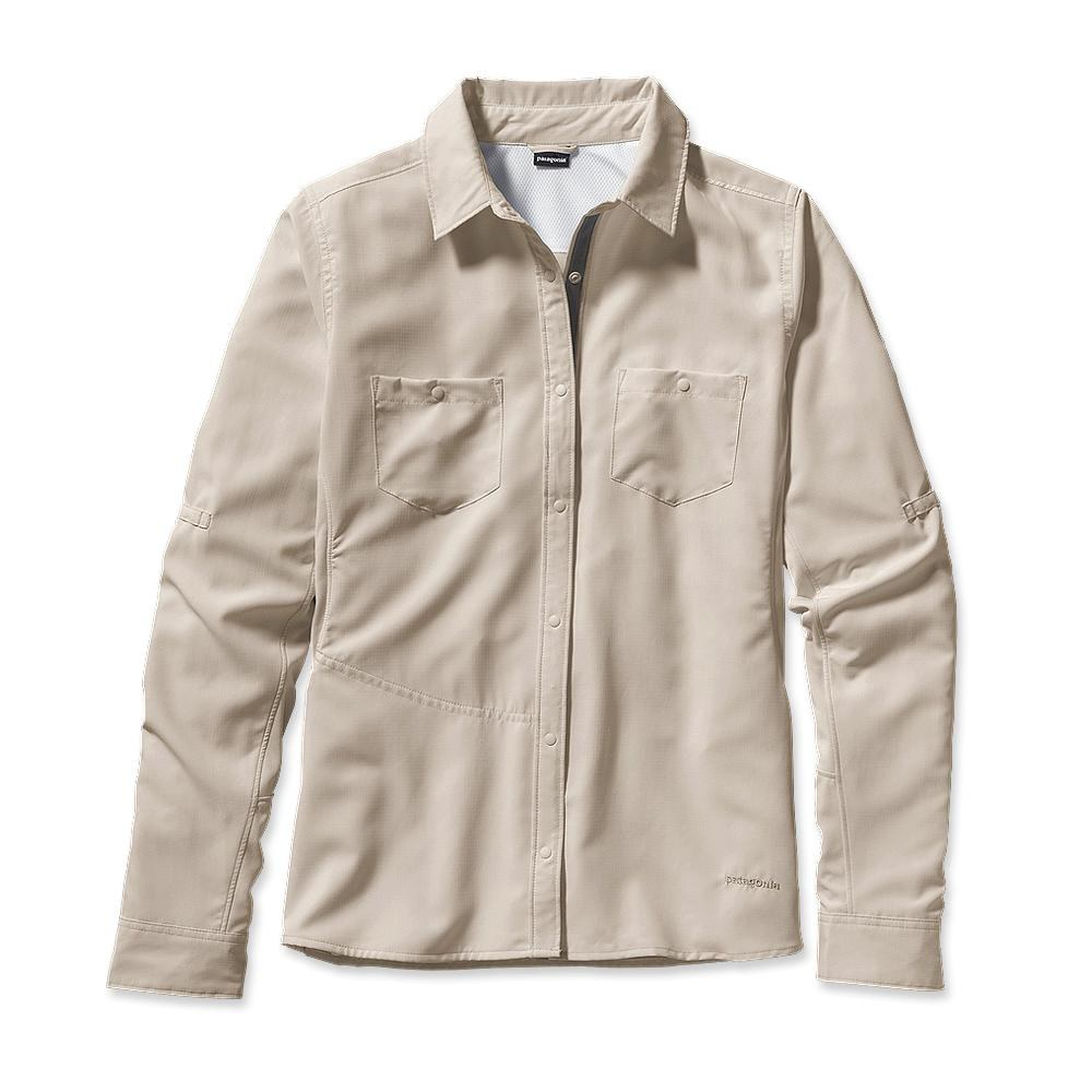 Patagonia Long-Sleeved Sol Patrol Shirt Bleached Stone-30