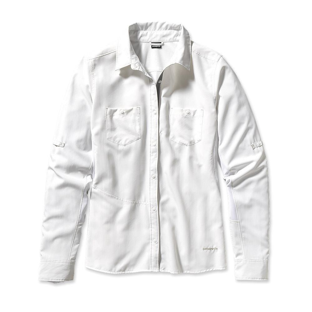Patagonia Long-Sleeved Sol Patrol Shirt White-30