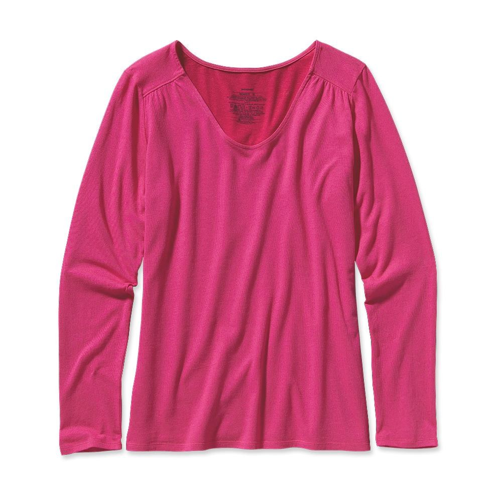 Patagonia Long-Sleeved Versatiliti Top Radiant Magenta-30