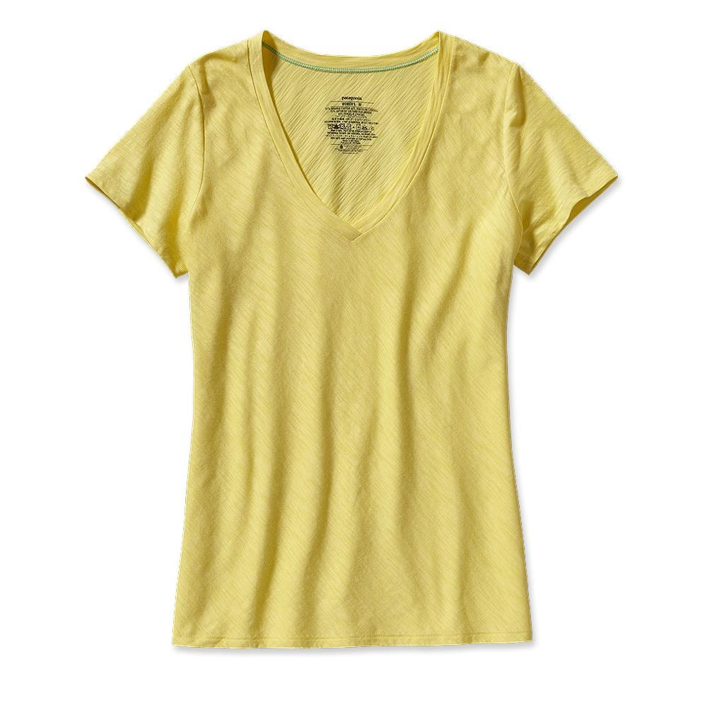 Patagonia Necessity V-Neck Pineapple-30
