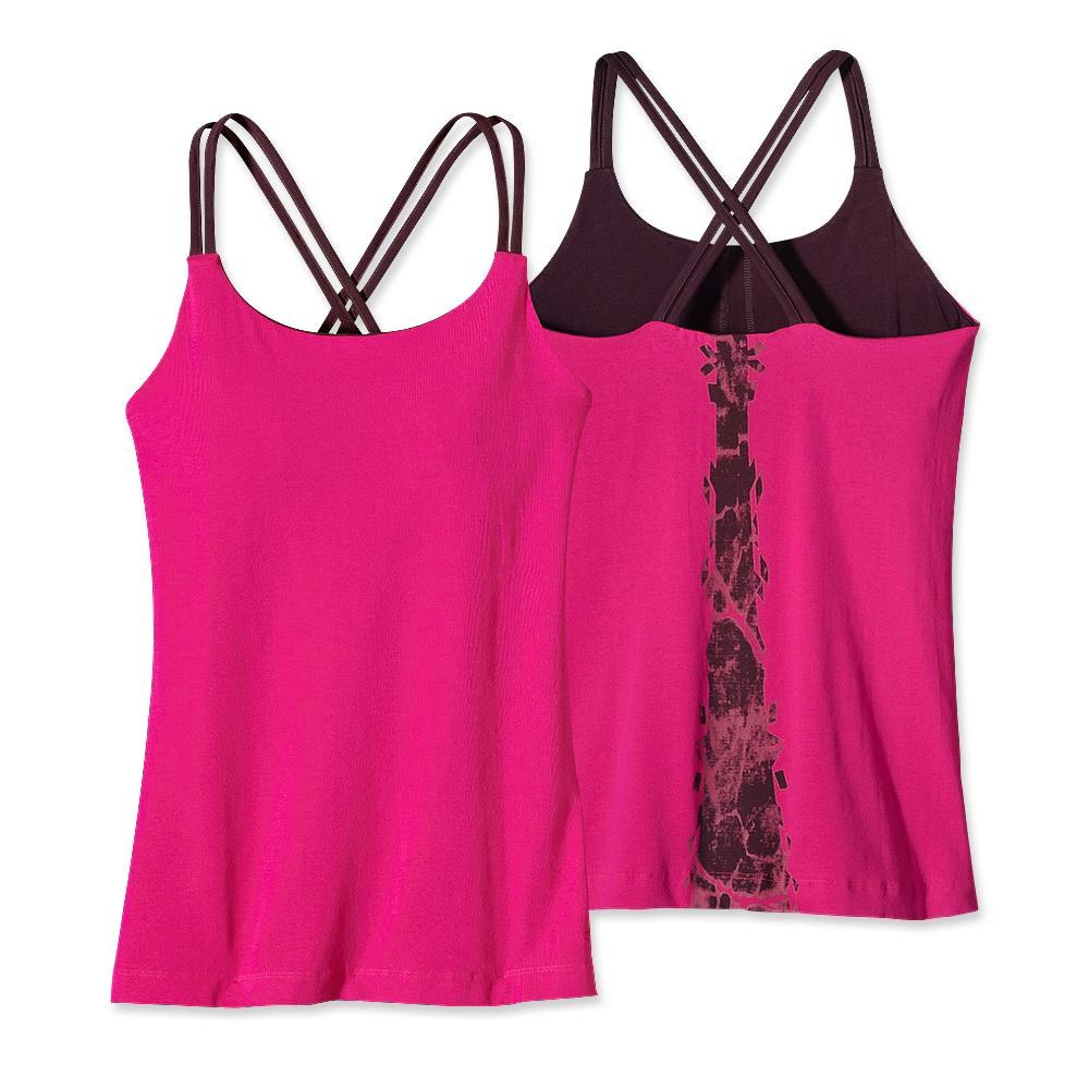 Patagonia Cross Back Tank Shibori Panel: Radiant Magenta-30